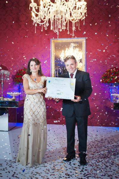 Festa de recebimento do certificado de acreditação em excelência ONA 3