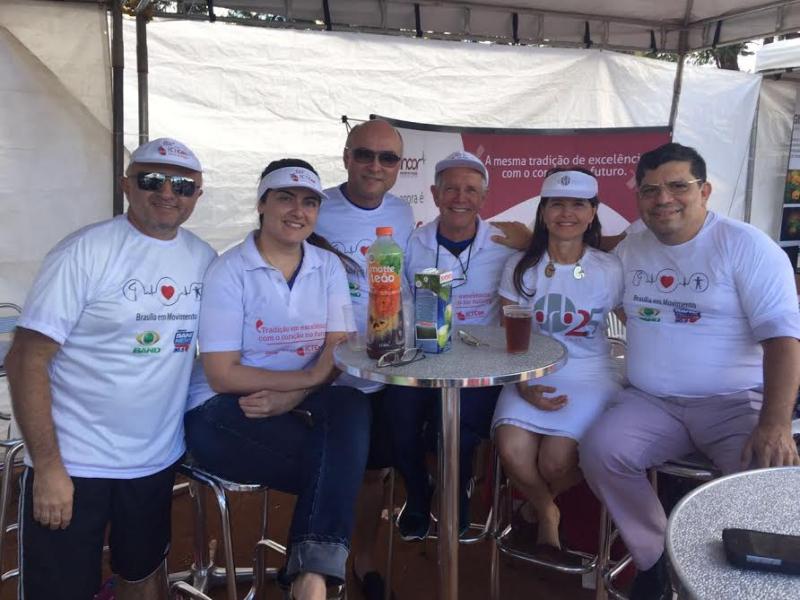 Equipe CDRB no Evento Brasília em Movimento