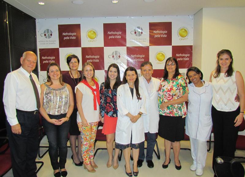 Equipe CDRB comemorando a Recertificação de Acreditação em Excelência