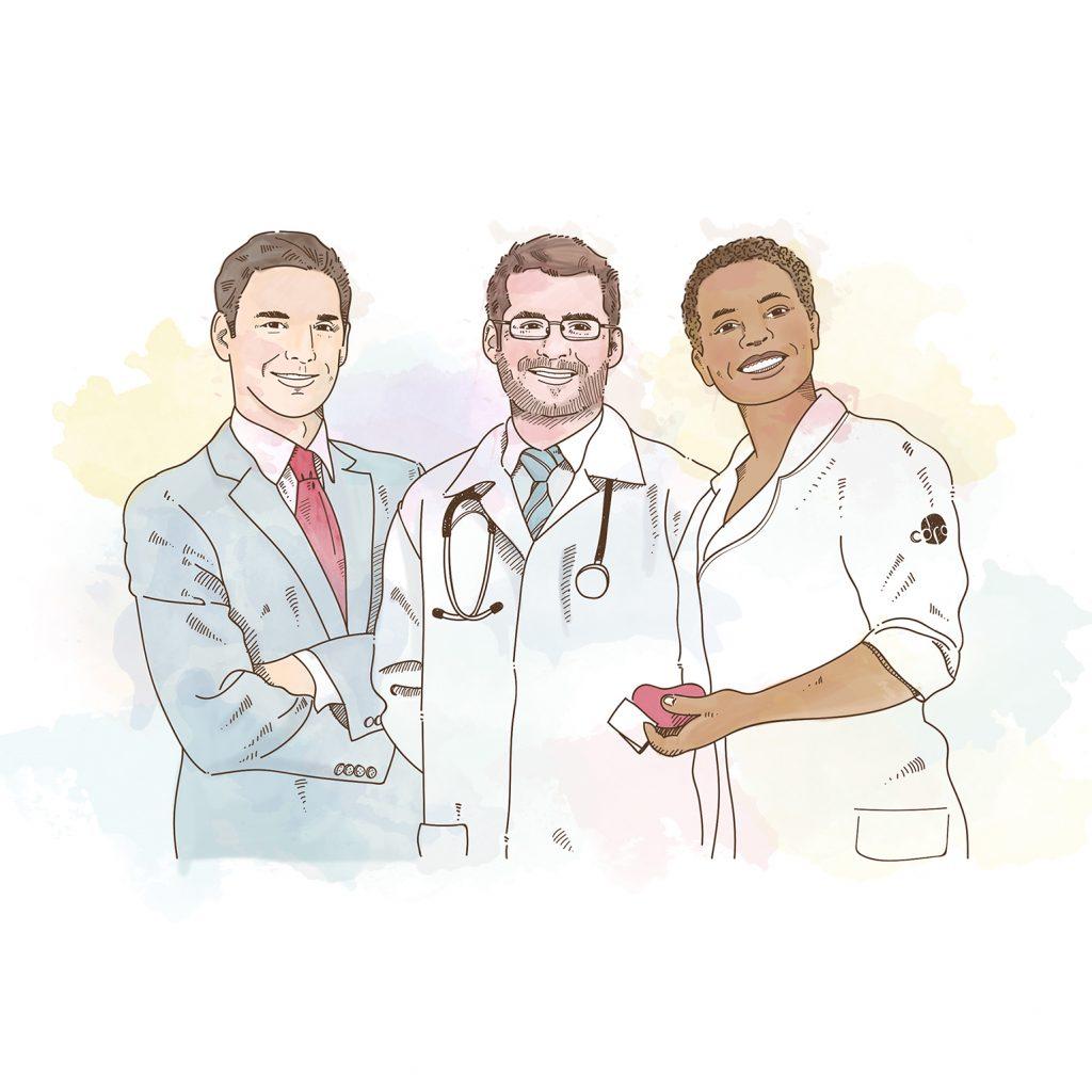 Nossa equipe Multidisciplinar preparada para atender nossos pacientes renais com qualidade